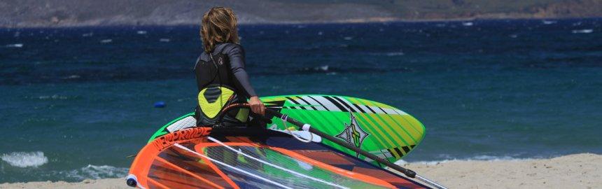 Marmari Windsurfen