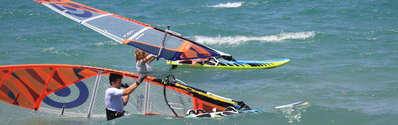 Windsurfunterricht Marmari