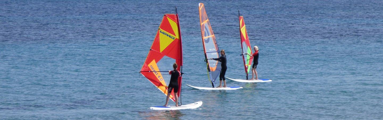 Windsurfkurse Marmari, Windsurfkurse Mastichari