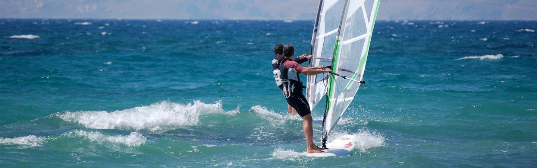 Windsurfen lernen auf der Insel Kos