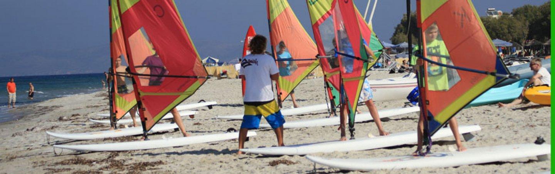 windsurfen unterricht, windsurfing lessons