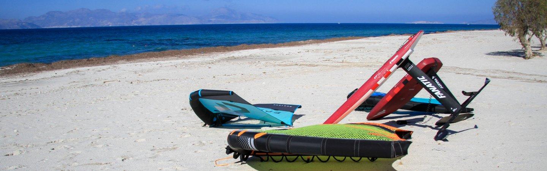 wingsurfen wingfoil Kos Kitesurfingkos Greece Griechenland Mastichari Lessons Rental