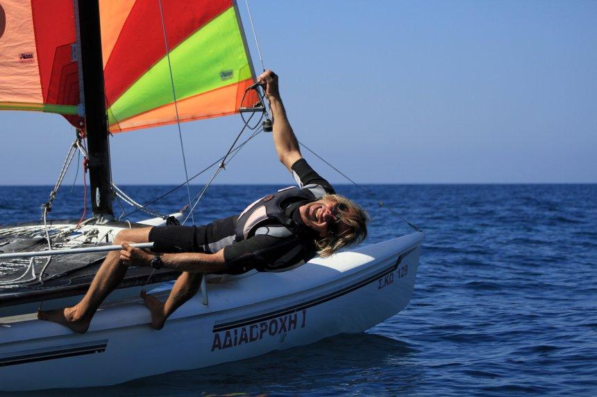 Katamaran segeln  Segeln | Windsurfing Kos & Water-Proof.de