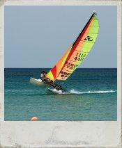 Catamaran Sailing in Kos