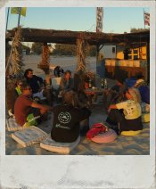 Unsere Kiteschule am Mastichari Strand