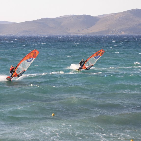 Windsurfing lessons Caravia Beach Hotel
